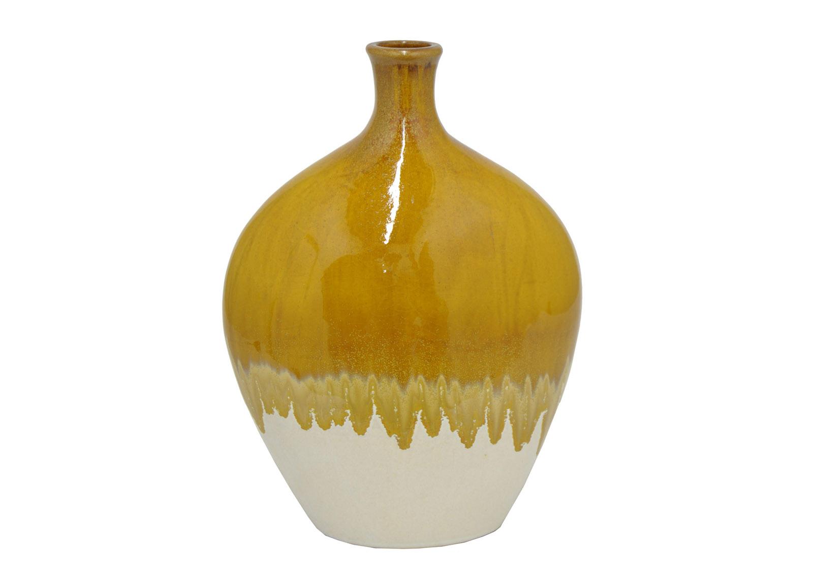 Vase ceramique dijon  14''H
