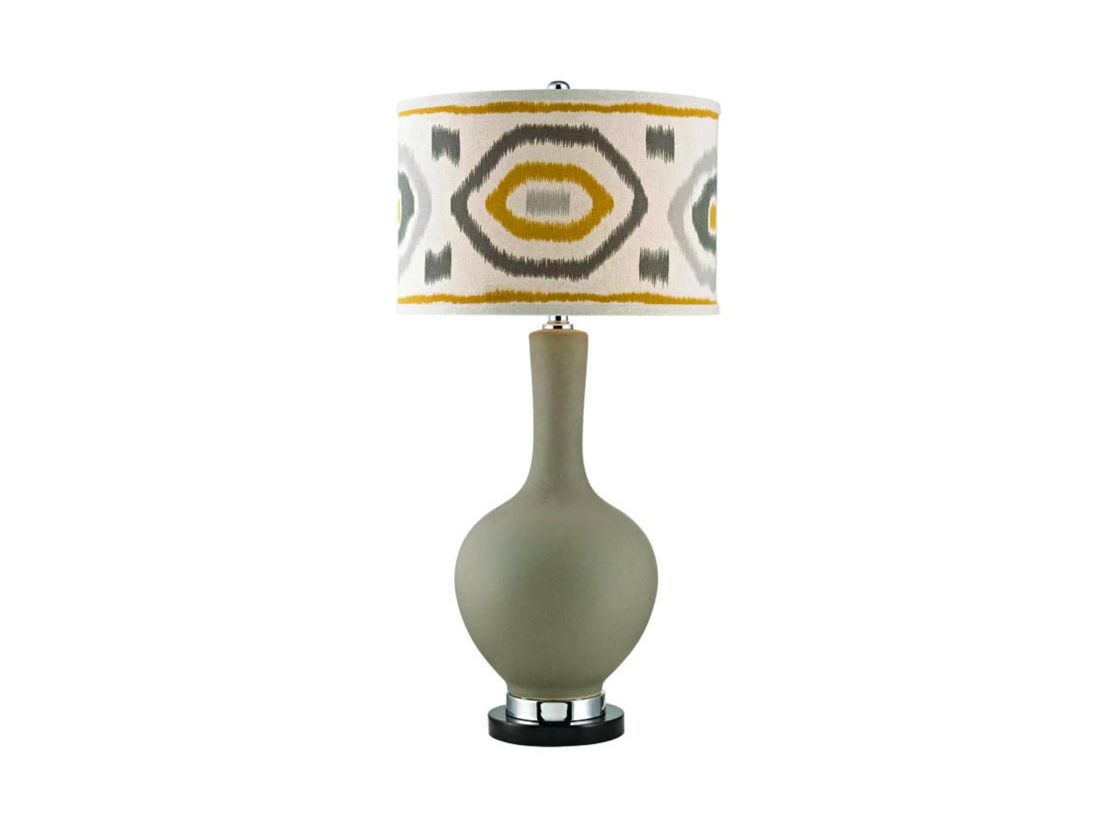 Ceramic Metal Lamp 17x34